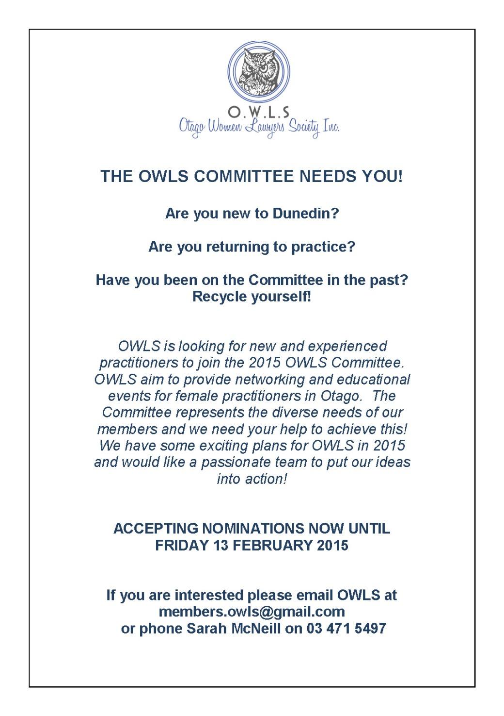 OWLS Recruitment
